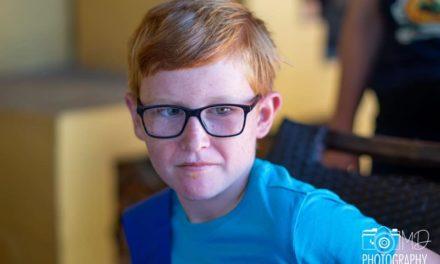 Little Joshua, the Birthday Cake Kid, Still Helping Others