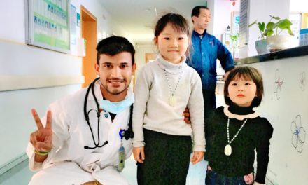 South African Doctor on Anti- Epidemic COVID-19 Team in China