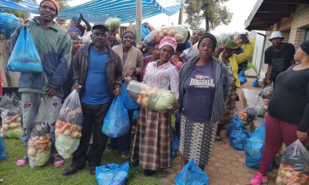 Ginah Skosana:  A shining light feeding a hungry squatter camp