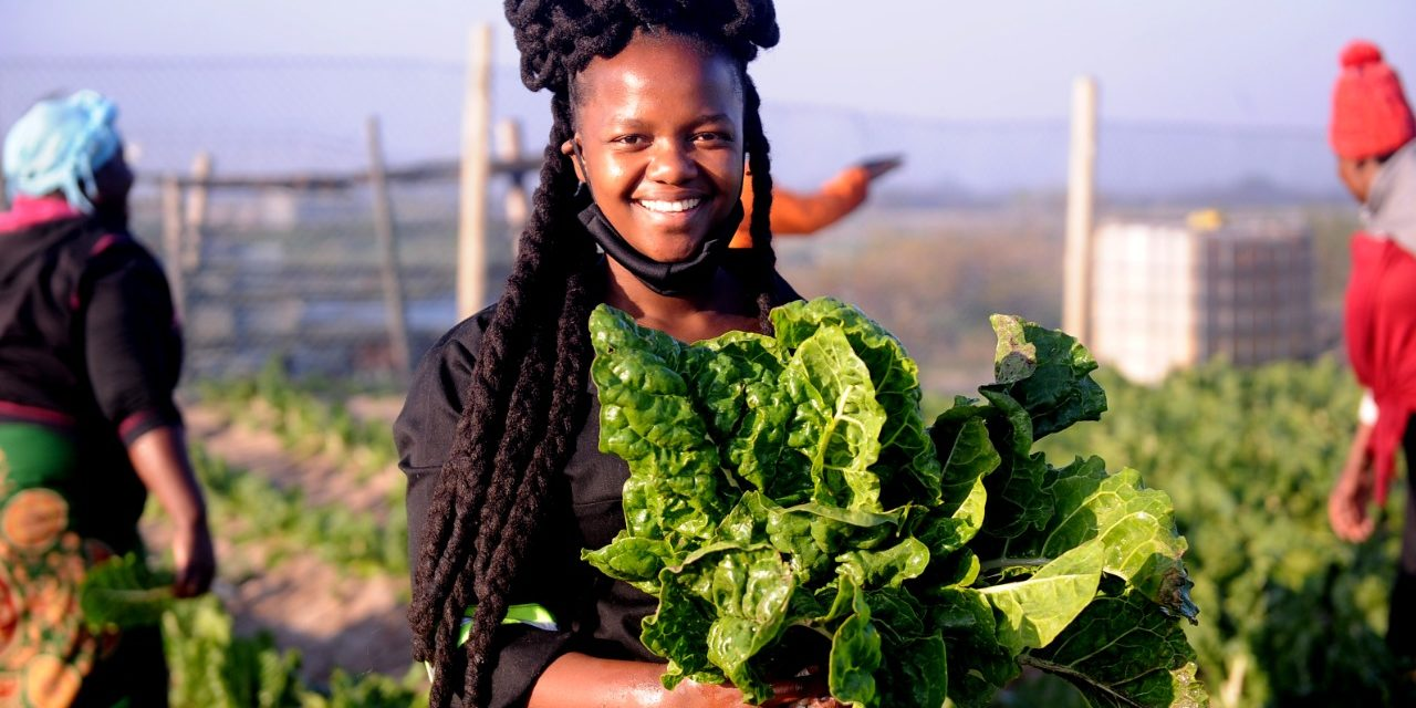 A LADY FARMER WITH A GREAT FUTURE
