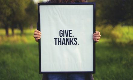Acknowledge, uplift and thank